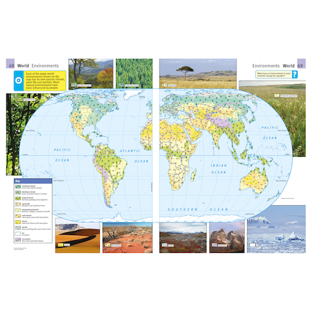 The Oxford Primary International Atlas  large