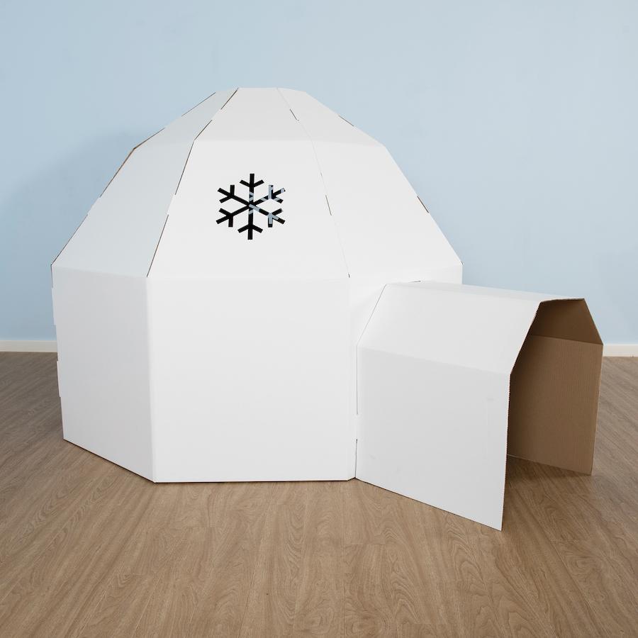 Hervorragend Buy Kid-Eco Cardboard Igloo | TTS DU22