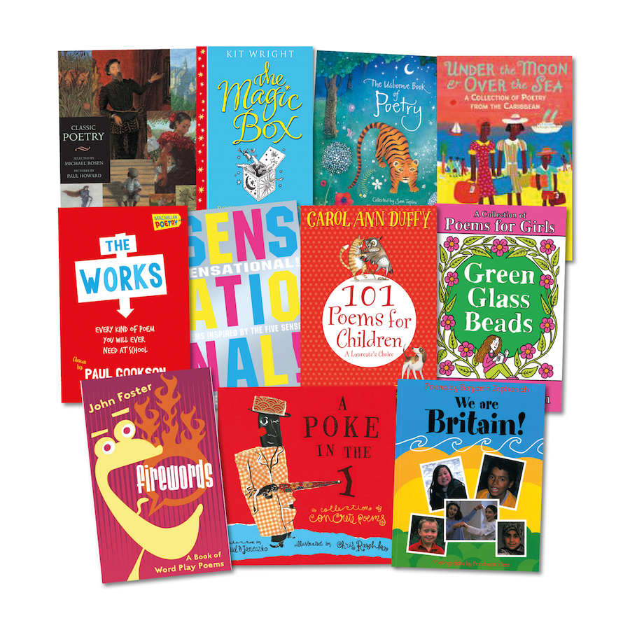 Poster design ks1 -  Ks1 And Ks2 Performance Poetry Books 11pk Small