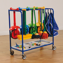 Outdoor Mobile Art Storage Trolley  medium
