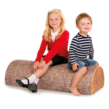 Multi Seater Tree Foam Log  medium