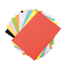 Recycled Card Assorted Colours A4  medium