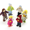 Small World Multicultural Family Figures Doll Set  small