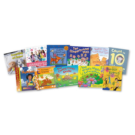 Learning To Count Maths Books 10pk  large