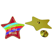Star Pupil Of The Week Enamel Reward Badge 15pk  medium