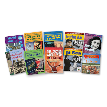 Life In WW2 Books   large