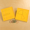 Colourful Geoboards Bulk Pack 42pcs  small