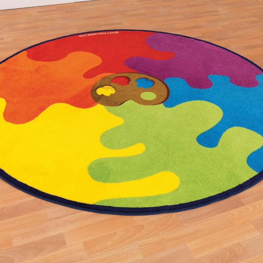 Buy Paint Palette Carpet Diameter 2m Tts