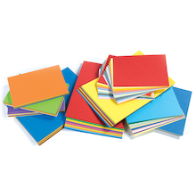 Assorted Bright Card 280micron 100pk  medium