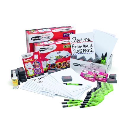 Show Me Whiteboard Classpack 35pk  large