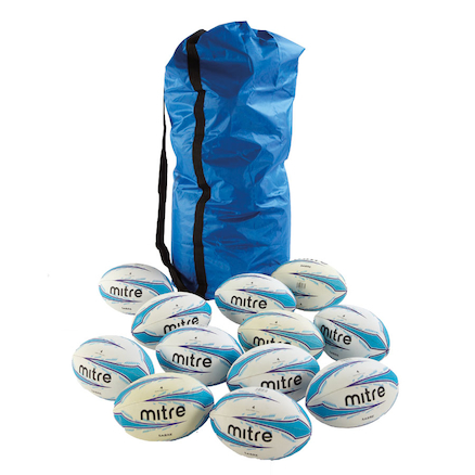 Mitre Rugby Balls 12pk  large