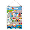 French Transport Vocabulary Wall Hanging  small
