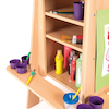 Three Sided Easel with Storage  small