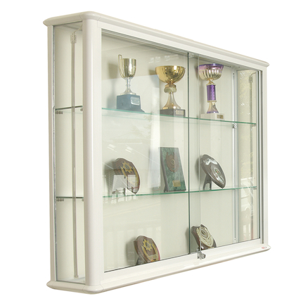 Glass Wall Display Cases  large
