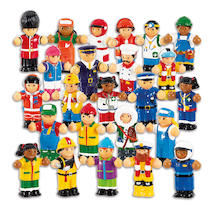 Small World WOW Occupation Figure Set 22pcs  medium