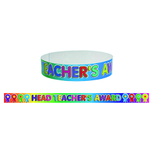 Headteacher's Reward Wristbands 60pk  medium