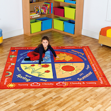 Seasons Floor Mat L200 x W200cm  medium
