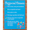 Playground Manners Sign  small