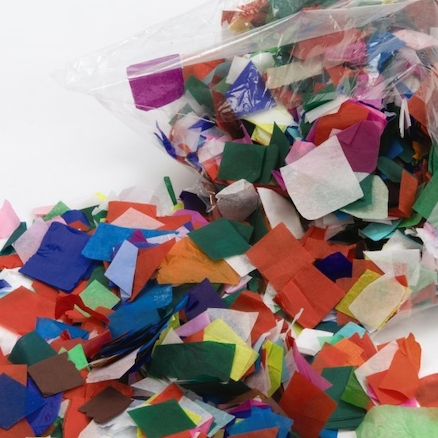 Tissue Paper Assorted Offcuts 500g  large