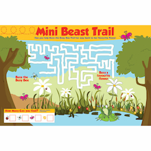 Mini Beast Trail Playground Sign  medium