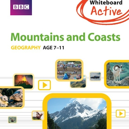 Investigating Mountains and Coasts CD ROM  large