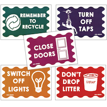 Environmentally Friendly Signs 25pk  medium