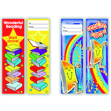 Literacy Bookmarks 80pk  medium