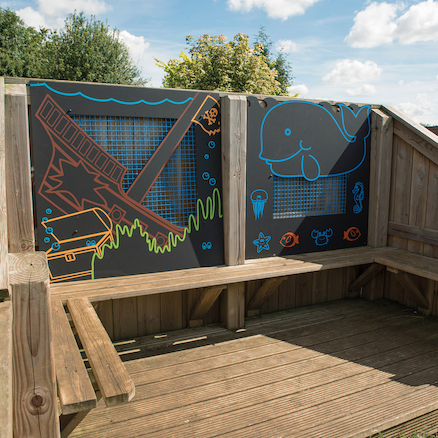 Outdoor Activity Chalkboards  large