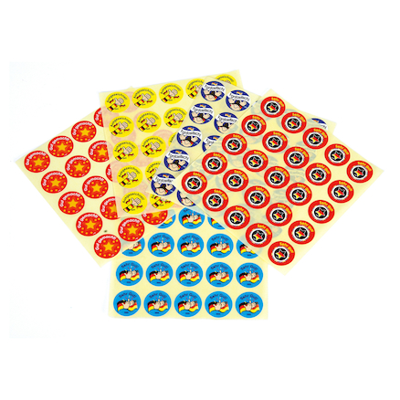 German Reward Assorted Stickers 125pk  large