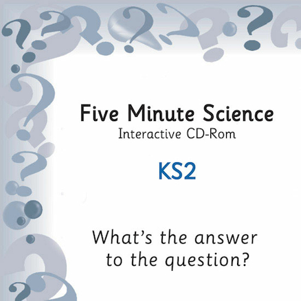 Five Minute Science Questions Game CD Rom  large