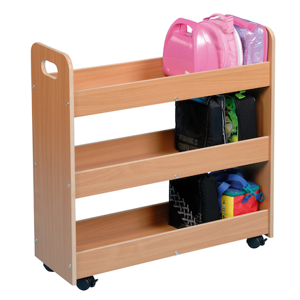 Lunchbox Trolley Beech  large