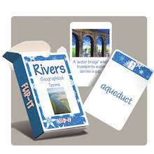 Flip-It Rivers and Water Geography Cards  medium