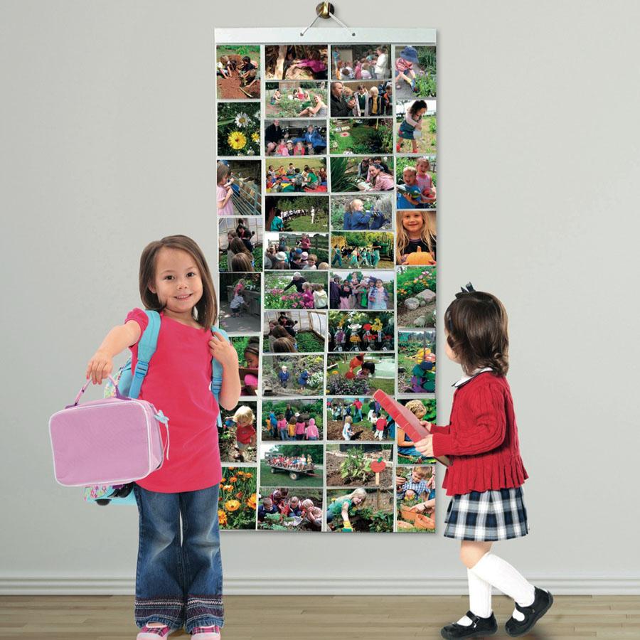 Hanging Photo Display Pockets