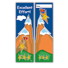 Excellent Effort Bookmarks 40pk  medium