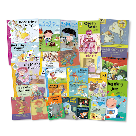 Year 1 and 2 Reading with Rhyme Books 20pk  large
