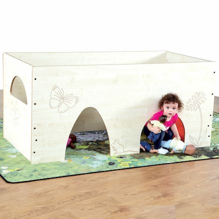 Baby Mouse House Wooden Play Den 140 x 83cm  large