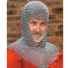 Viking Chainmail Hood  medium