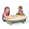 Mini Toddler Extra Low Table W750 x D480 x H185mm  small