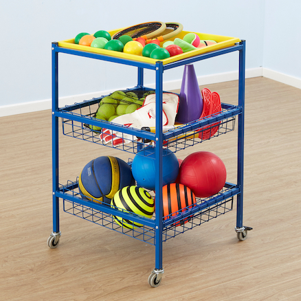 Multi Purpose Metal Trolley W52 x H65cm  large