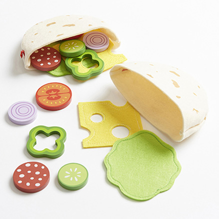 Role Play Pita Bread Food Set  large