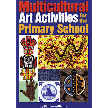 Multicultural Art and Craft Activity Book  large