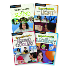 Experiments with Science Books 4pk  medium