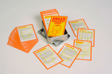 Anger Management Discussion Game Cards 186pk  medium