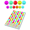 Assorted Smiley Face Stickers 3930pk  small