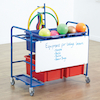 Whiteboard and Storage Trolley  small
