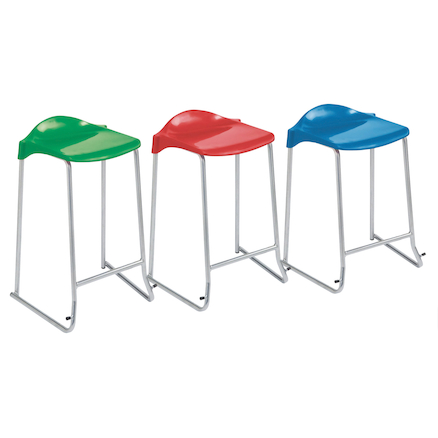 Low Backed Stools  large