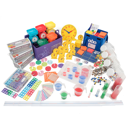 Discovering Number, Money and Measure Basic Kit  large