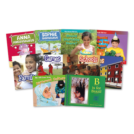 Early Years Equality and Diversity Books 10pk  large