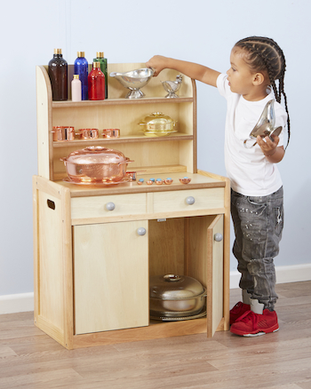 Role Play Wooden Welsh Dresser  large