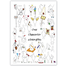 Character Strengths Posters 5pk  medium